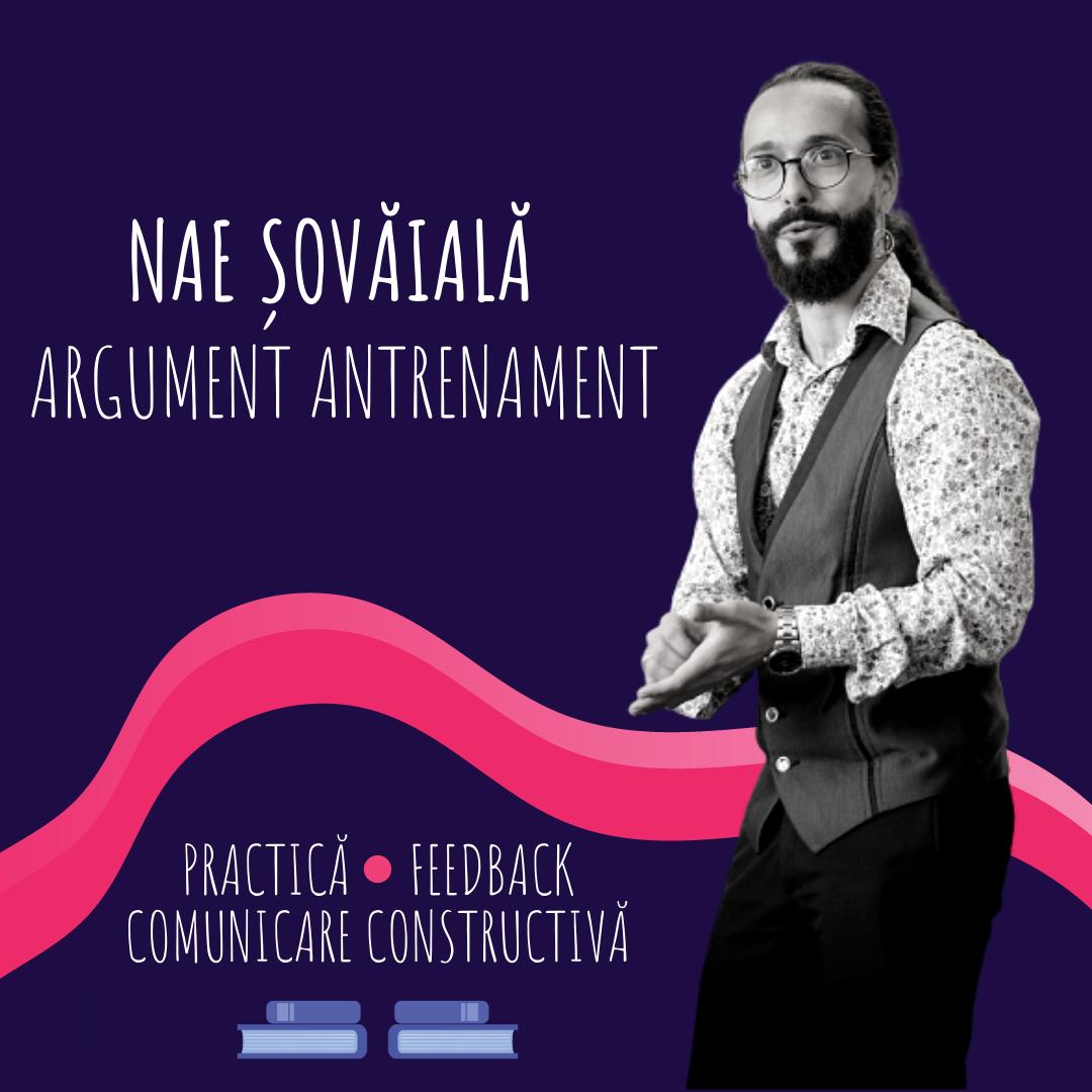 Antrenamente argumentative - 4 sesiuni individuale de practică și feedback