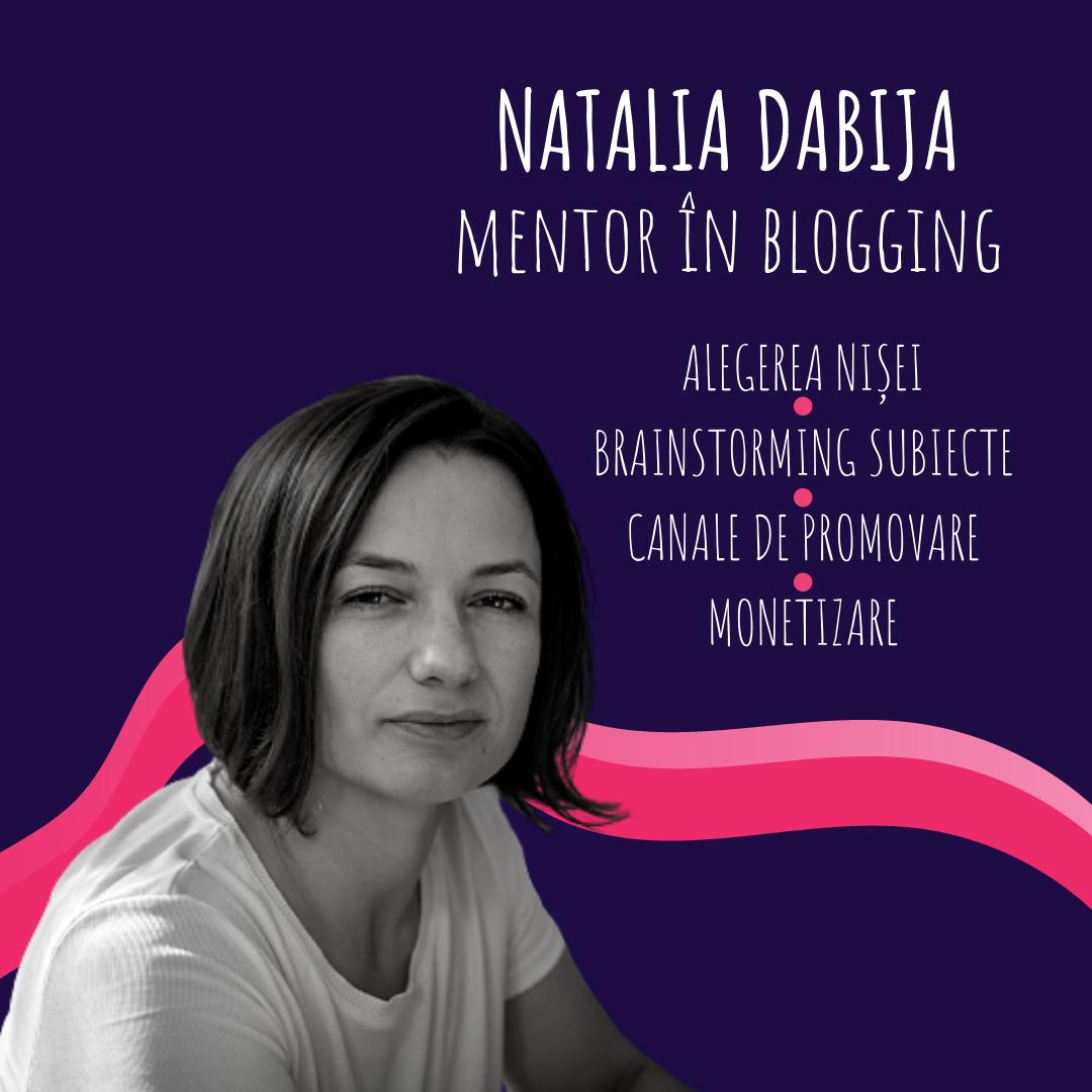 Începe și tu un blog de nișă în 3 întâlniri | Mentorat ]n blogging cu Natalia Dabija